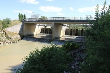 Vandalisme au pont-barrage: le niveau du Gers baisse de 2 mètres | Actus du Gers | Scoop.it