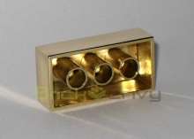 Peek at the most expensive Lego brick in existence | Gold and What Moves it. | Scoop.it