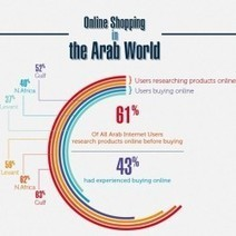 Online shoping in the Arab World   Visual.ly   SM   Scoop.it