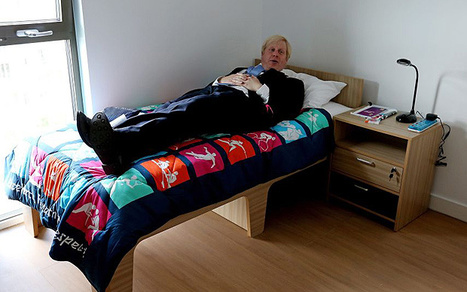 London 2012 Olympics: Usain Bolt's Olympic Village bed available to buy for £39.99 - Telegraph   It's Show Prep for Radio   Scoop.it