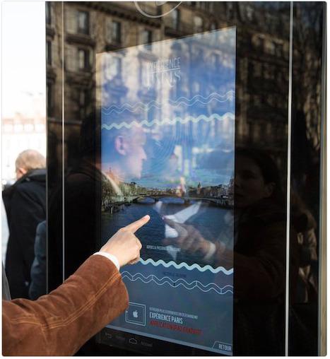 AIDEZ-NOUS à améliorer et moderniser les écrans tactiles des #abribus parisiens. Donnez votre avis. | Machines Pensantes | Scoop.it