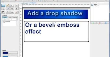 DrawPad Graphics Editor, software gratis para crear elementos web | Recursos. TICs y educación | Scoop.it