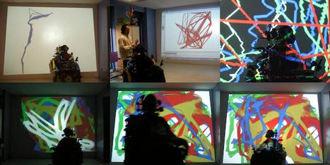 Digital Wheel Art : YoungHyun Chung « Création Handicap Multimédia | Education au numérique _  aux nouveaux médias | Scoop.it