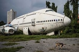 Life in an aircraft graveyard – in pictures | Urban Exploration | Scoop.it