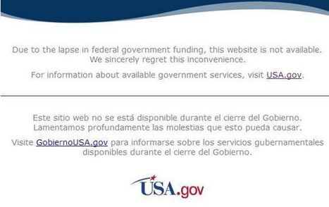 What the Government Shut Down Means for Internet Marketers | Online Marketing | Scoop.it