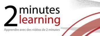 NetPublic » 2 minutes learning : 59 vidéos de moins de 2 minutes pour apprendre l'informatique et l'Internet | ENT | Scoop.it