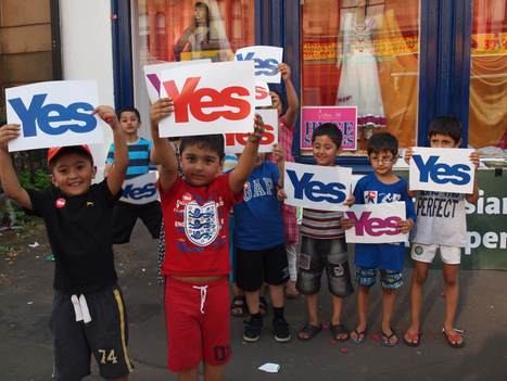 Scots Asians For Yes - Lets build a Scotland for the future of all our children | SayYes2Scotland | Scoop.it