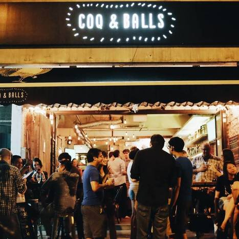 Best Bars known for Food in Singapore | Drinks | Scoop.it