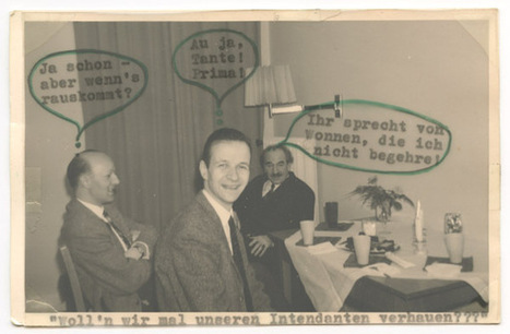 Another find: the fun some people had with printed pictures.... | Photography Now | Scoop.it