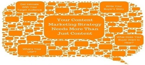 Your Content Marketing Strategy Needs More Than Just Content - Business 2 Community | Social-Media Branding | Scoop.it