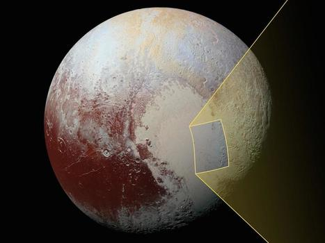 NASA Releases Photo Of The Mysterious 'Floating Hills' Of Pluto | Fragments of Science | Scoop.it