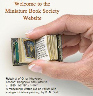 A Miniature Bookmark -- Miniature Book Society | Books On Books | Scoop.it