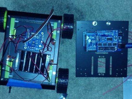 Arduino Mega 2560 + Raspberry Pi experimental platform   Arduino&Raspberry Pi Projects   Scoop.it