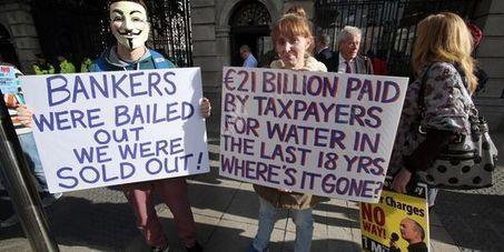 Les Irlandais protestent contre la facturation de l'eau | NPA - Transports gratuits ! | Scoop.it