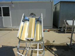 Agua potable mediante energía solar