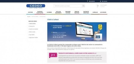 Cedeo lance son service de click and collect - Industrie/Négoce | Saint-Gobain Brands life | Scoop.it