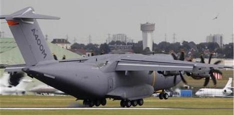 L'avion de transport militaire européen, l'A400M, développé par ... - La Tribune.fr | COMPOSITE INDUSTRIE (FR) | Scoop.it