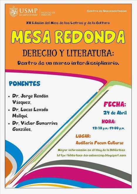 Blog Biblioteca: Mesa Redonda: Derecho y Literatura | Literatura | Scoop.it