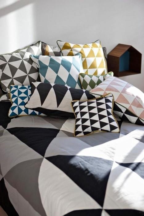 10 coussins pour un salon scandinave – Cocon de décoration: le blog | La décoration : les tendances | Scoop.it