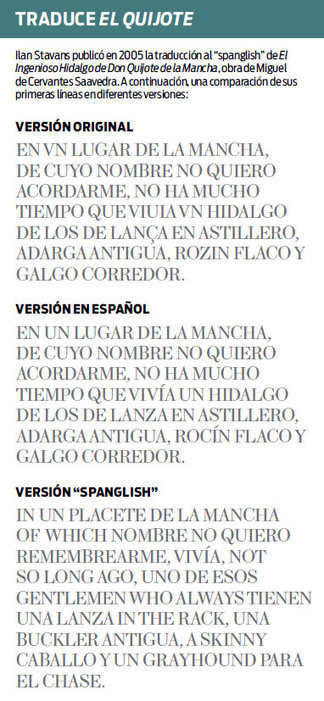 "Piden reconocer al ""spanglish"" de EU 