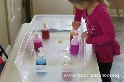 All pumped up for water play and moose track soap | Kindergarten | Scoop.it