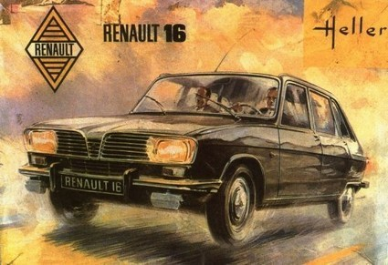 "Maquette 1/20è: la Renault 16 chez Union (""The Memorial Collection"") 