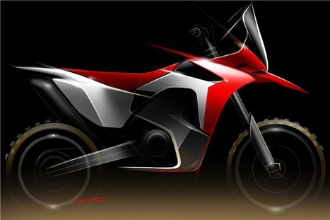 Honda's Dakar racer revealed | motorcycles | Scoop.it