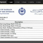 Bahrain: More Tear Gas Than People · Global Voices | Human Rights and the Will to be free | Scoop.it