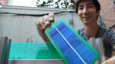 Open Source 'Solar Pocket Factory' Can 3D Print A Solar Panel Every 15 Seconds | Peer2Politics | Scoop.it