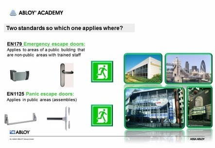The changing standards applicable to Escape doors   Means of Escape - Fire Safety Magazine   UK Fire Prevention   Scoop.it