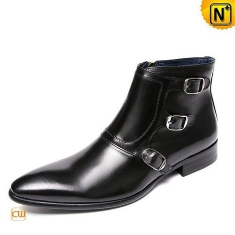 Paris Mens Italian Leather Shoes Ankle Boots CW761350 | Leather Blazer Jacket | Scoop.it