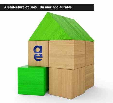 Blog Architecture Environnement | Architecture et Bois: Un mariage durable | Architecture Environnement, le blog ! | Scoop.it