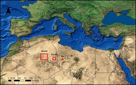 The total area of solar panels it would take to power the world, Europe, and Germany | Marc's private collection | Scoop.it