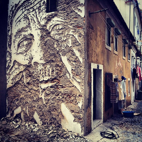 Vhils : Street Art from Portugal | Conception | Scoop.it