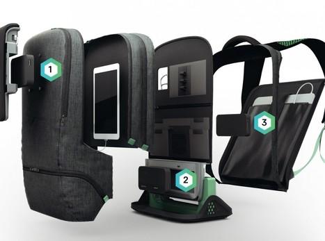 Le sac à dos connecté qui recharge tous vos gadgets | Gizmodo | Innovation, entrepreneuriat  et internet des objets | Scoop.it