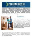 Moving Companies In Pickering On | Pickering Movers | Scoop.it