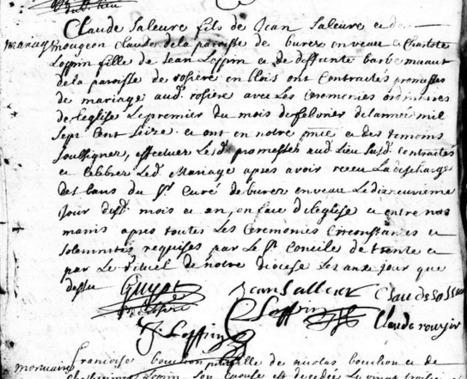 S comme les rares Signatures de mes aïeules #challengeAZ | Rhit Genealogie | Scoop.it