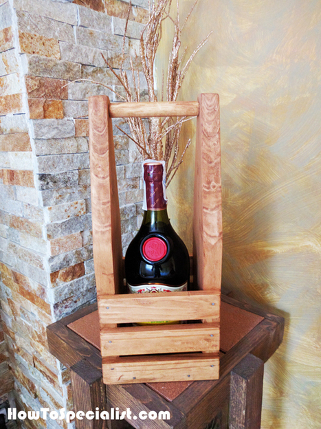 DIY Wine Caddy | MyOutdoorPlans | Free Woodworking Plans and Projects, DIY Shed, Wooden Playhouse, Pergola, Bbq | Furniture Plans | Scoop.it