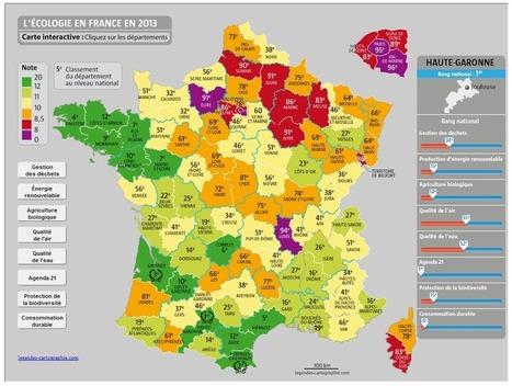 Les départements les plus verts de France en 2013 | Départements & cie | Scoop.it