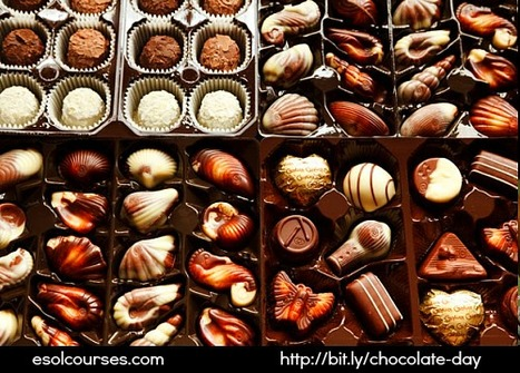 International Chocolate Day (September 13) | Topical English Activities | Scoop.it
