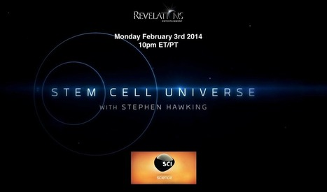 Stem Cell Universe with Stephen Hawking: TV show graphic and link | Stem-Cells | Scoop.it
