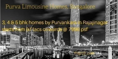 Puravankara Limousine Homes Rajajinagar | Real Estates Property | Scoop.it
