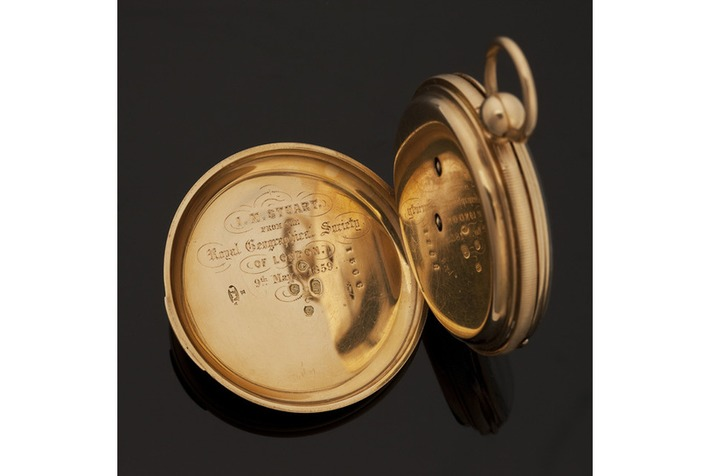 Watch presented to intrepid Scot, first man to cross Australia, to be sold at Bonhams | Art Daily | Kiosque du monde : Océanie | Scoop.it