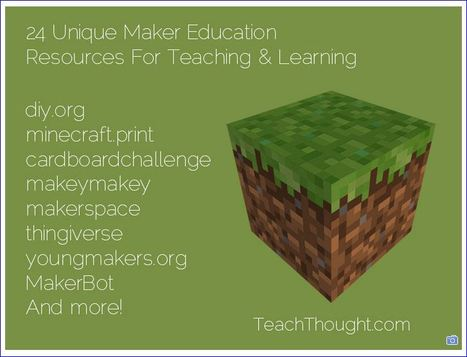 24 Unique Maker Education Resources For Teaching & Learnin by Mike Acedo | Worth Following | Scoop.it