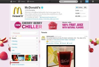 An inside look into McDonald's Twitter, blogger strategy | Articles | finger food | Scoop.it