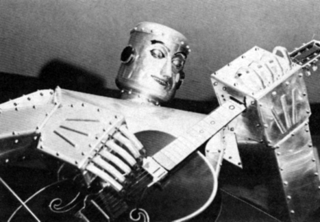Meet The Retro Robot Band From The Fabulous '50s | Strange days indeed... | Scoop.it