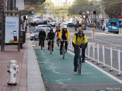 Shareable: Amsterdam-by-the-Bay: SF Learns Biking From the Dutch | Urban mobility... | Scoop.it