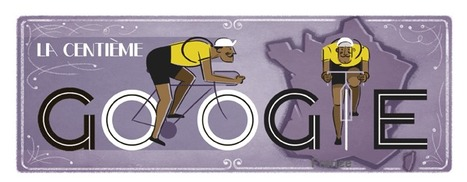 Doodle : La 100e du Tour de France -Google | Méli-mélo de Melodie68 | Scoop.it