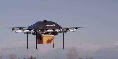 Amazon Experimenting With Drones That Will Deliver Packages In 30 Minutes | cross pond high tech | Scoop.it