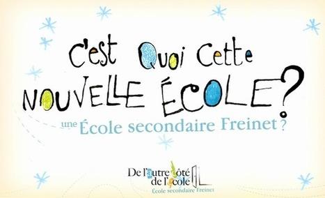 C'est quoi cette nouvelle école Freinet? | Communication non-violente et pédagogie active | Scoop.it